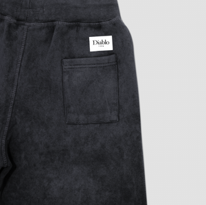 CLASSICA ACID WASH SHORT BLACK
