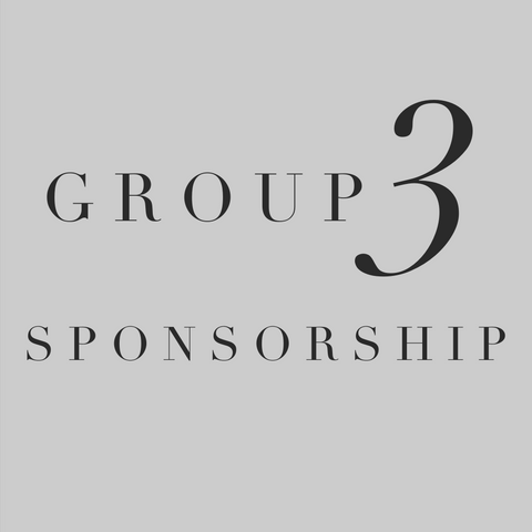 Group 3 Sponsorship