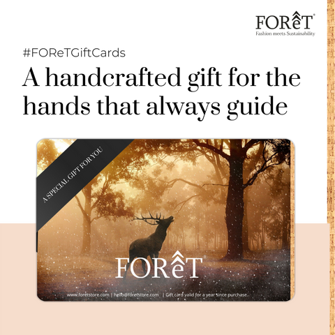 FOReT Sustainable fashion gift card