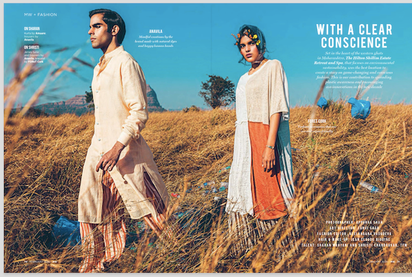FOReT | PETA Approved Vegan Fashion Brand from India is featured in Mans World Magazine.