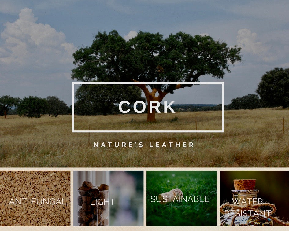 Foret - Natural & Eco Friendly Luxury Fashion crafted from Cork Fabric.