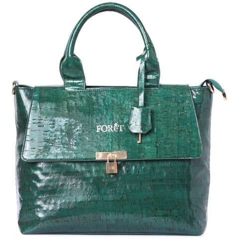 FOReT Luxury Designer Handbag - Vegan Cork Leather | Women | Office Bags