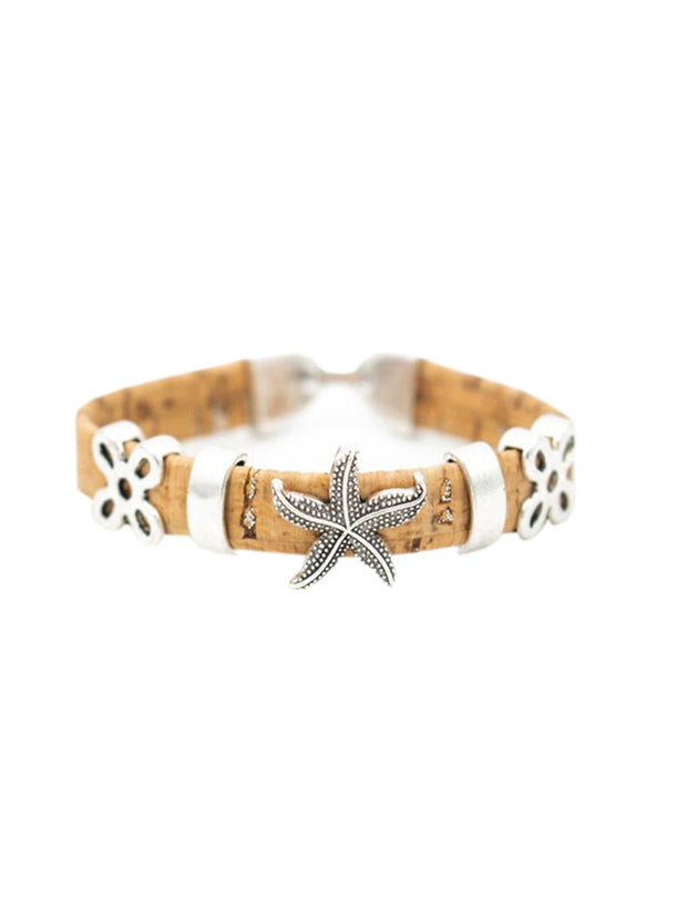 Stars of the Sea Cork Bracelet - FOReT