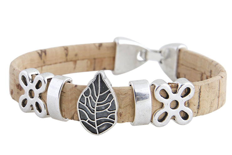 Bay Laurel Cork Bracelet