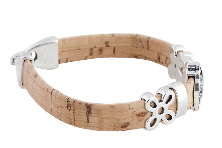 Vegan Bracelet made from Cork