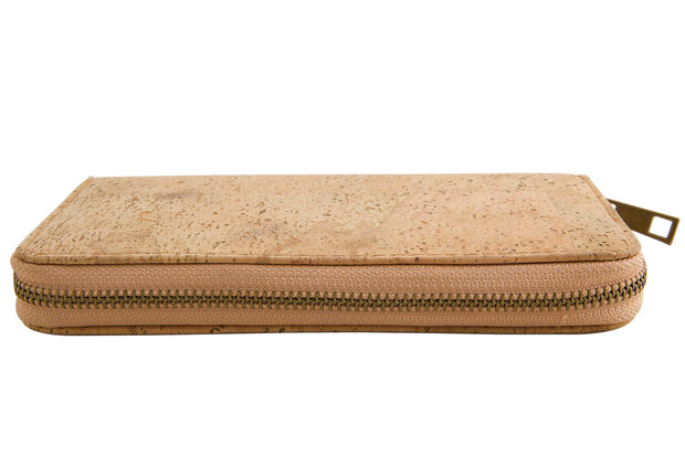 FOReT Cork Elizia Zipped Wristlet - Natural  ans Sustainable