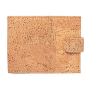 Men's Cork Wallet | Checked Oak - FOReT