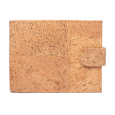 FOReT Checked Oak Eco Friendly and Vegan Men Wallet made from Cork