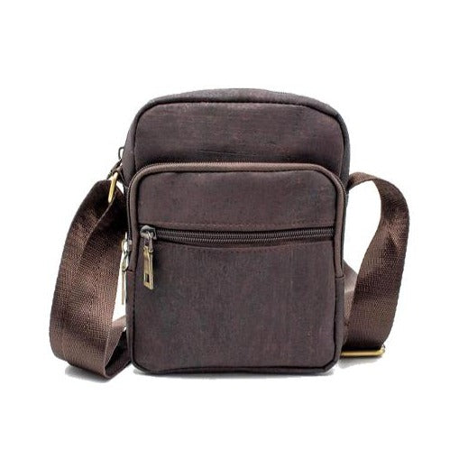 Cork Scots Pine Travel Bag Dark Brown