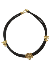 Iberis Gold Cork Necklace - FOReT