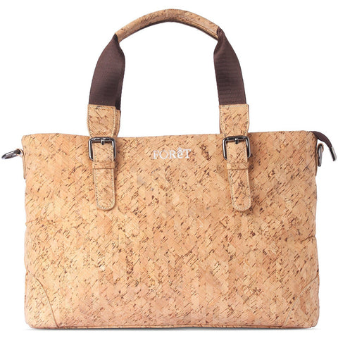 FOReT Eco Friendly and Vegan Women Laptop Bag made from Cork