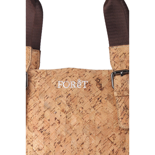 Cork Laptop Bag | Alder Grains - FOReT