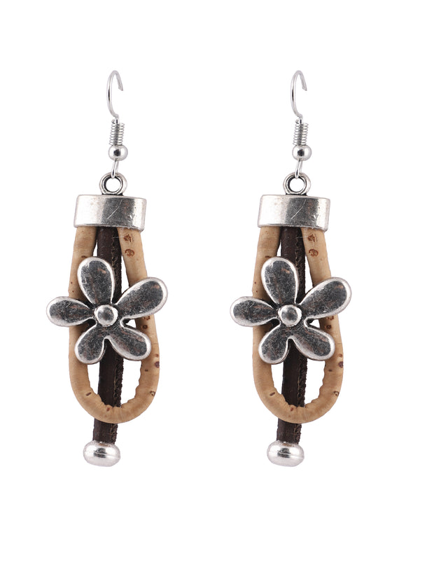 Cork Spring Blossom Earrings - FOReT