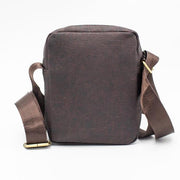 Cork Scots Pine Travel Bag Dark Brown - FOReT