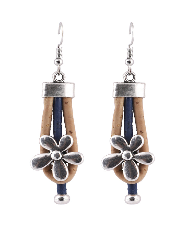 Spring Blossom Cork Earrings - FOReT