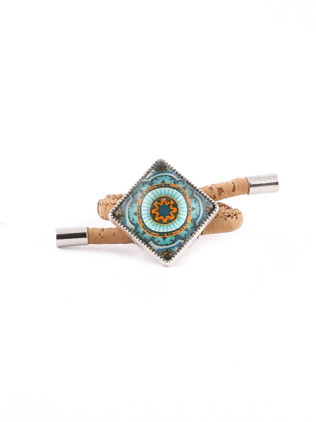 Crystal Iris Cork Ring - FOReT
