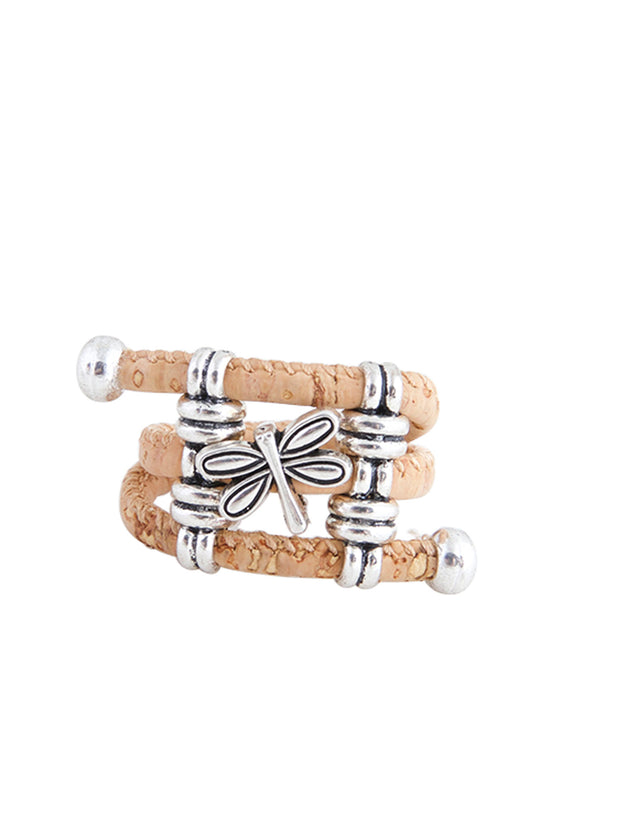 The Damselfly Cork Ring - FOReT