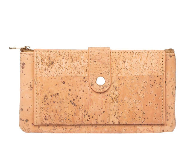 Cork Caramel fashion Women's Wallet - FOReT