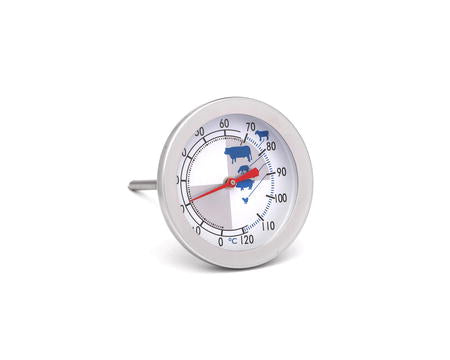 Roasting thermometer steel - 12 cm