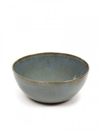 BOWL L D15 H6 SMOKEY BLUE