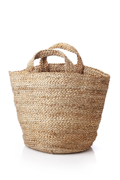 Basket with handles
