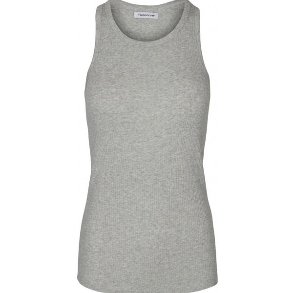 Ringo o-neck tank - grey