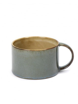 COFFEE CUP D8 H5,1 MISTY GREY/SMOKEY BLUE