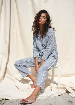 PYJAMAS STRIPED - Indigo