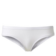 Undies low-rise - HIPSTER BASE - white