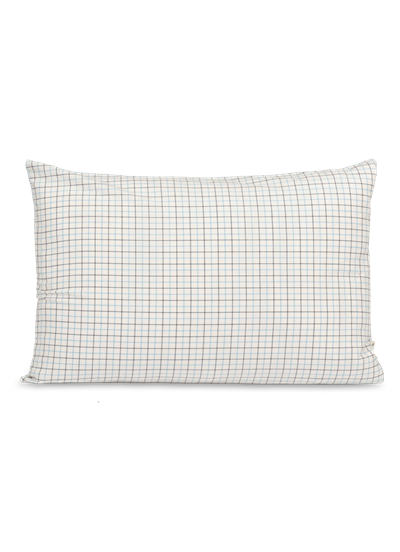 COT/LIN PILLOW - HORSE CHECK - 40X60CM