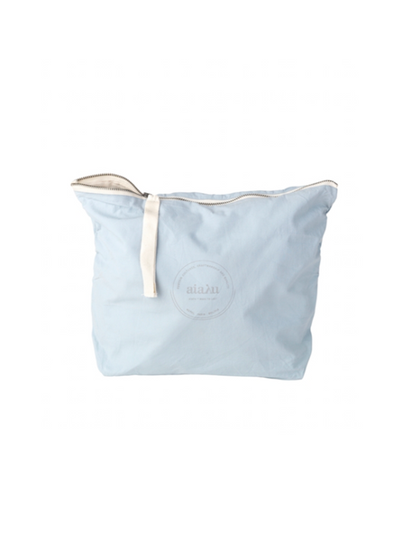 Pouch L - blue glass