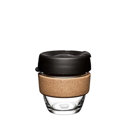 KeepCup Cork 8oz sort - KAFFAbutikk