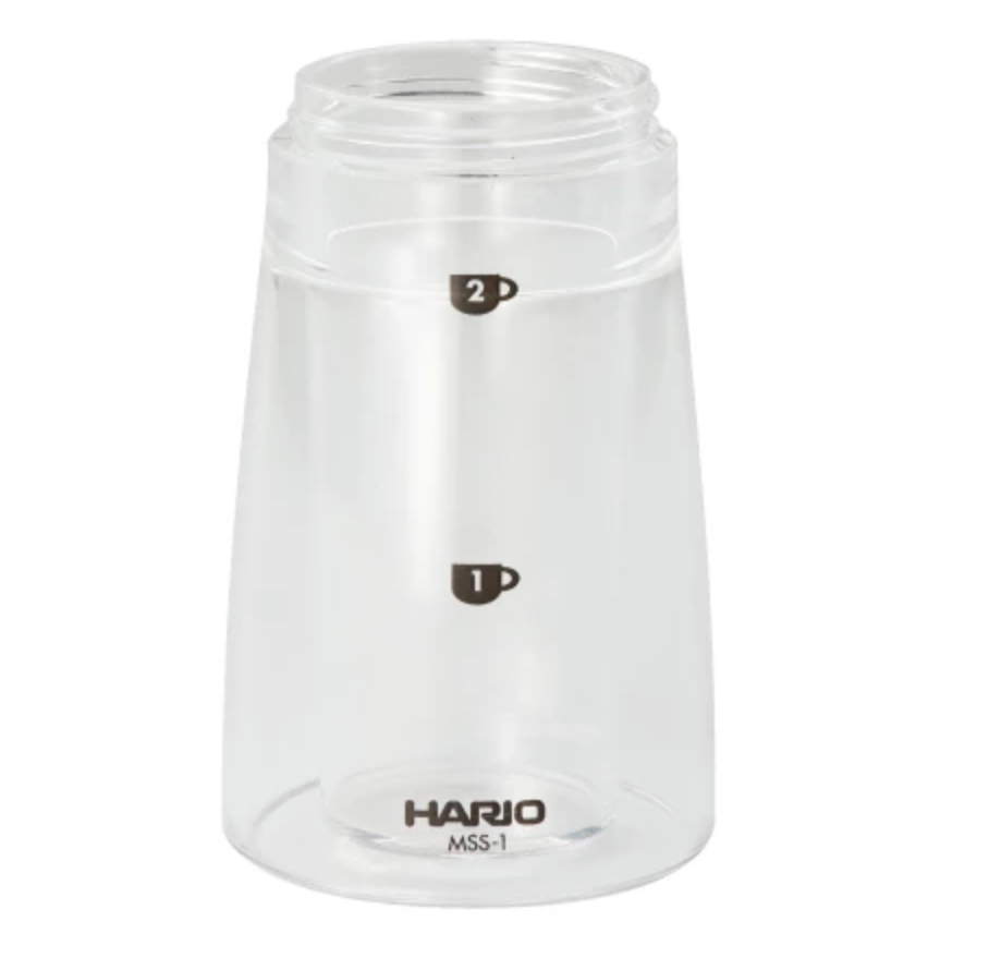 Mini mill plastic jar - reservedel for MSS-1DTB - KAFFAbutikk