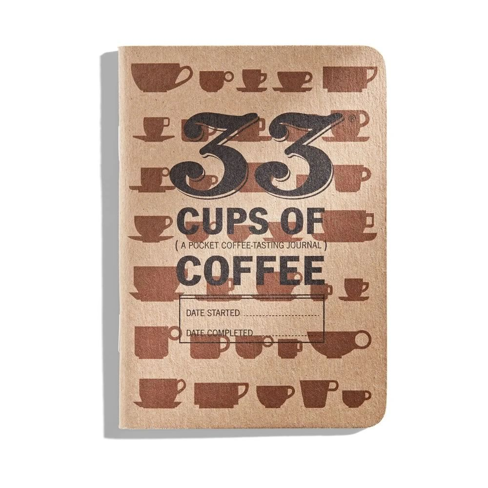 33 Cups of Coffee: En journal for kaffesmaking - KAFFAbutikk