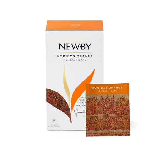 Rooibos Orange teposer Newby - KAFFAbutikk