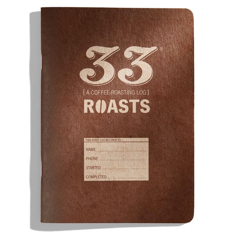 33 Roasts: En journal for kaffebrenning - KAFFAbutikk