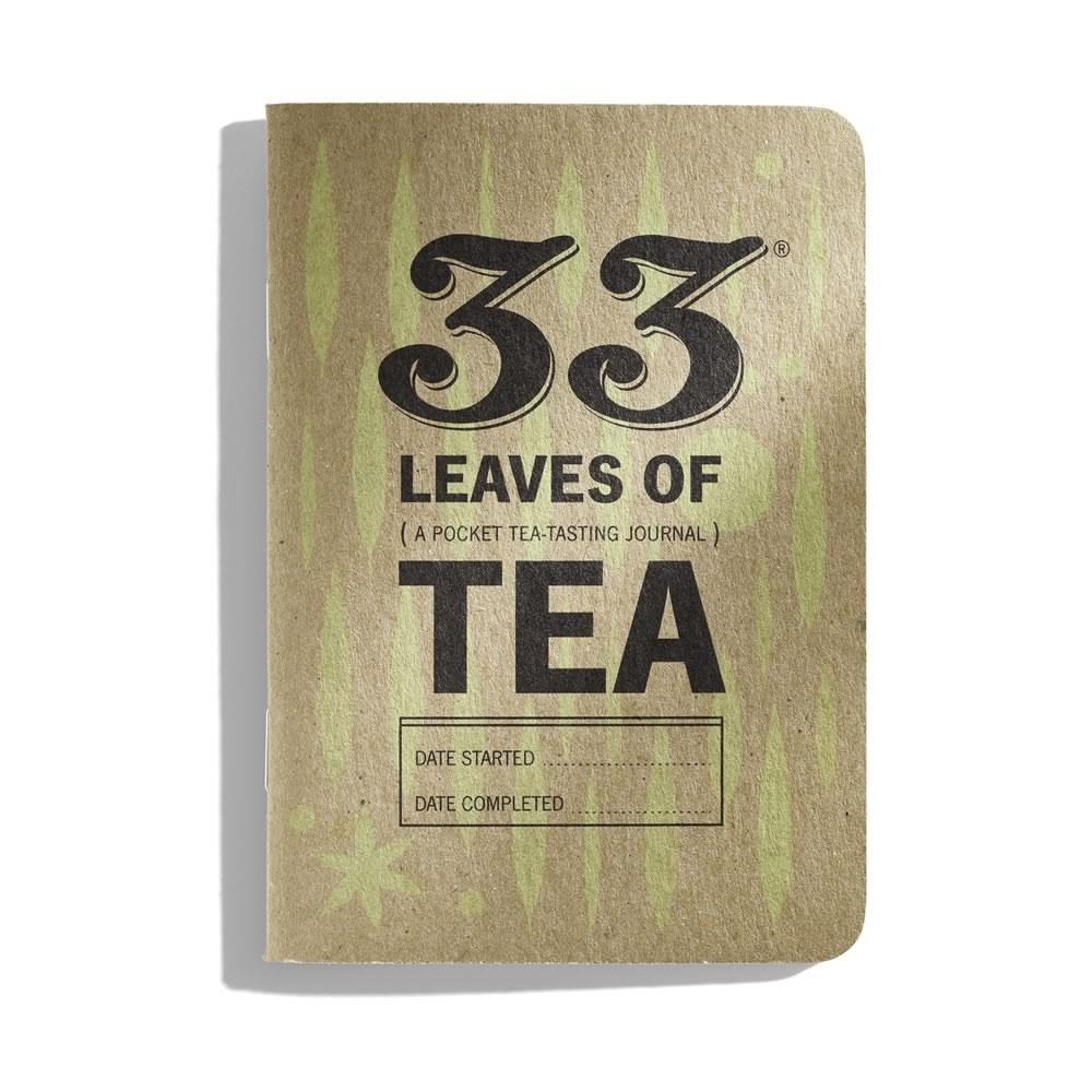 33 Leaves of Tea: En journal for tesmaking - KAFFAbutikk