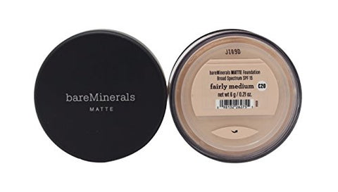 Bare Escentuals BareMinerals Matte SPF15 Foundation - Fairly Medium 6g/0.21oz