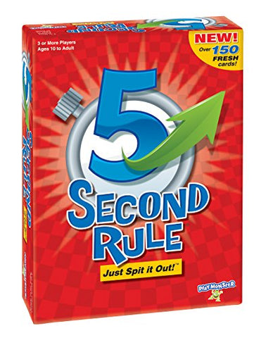 Image of PlayMonster 5 Second Rule Game - New Edition