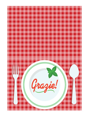 Image of Editable - Pizza Party Family Night Bundle With Invite, Recipe Cards, and Thank You Card