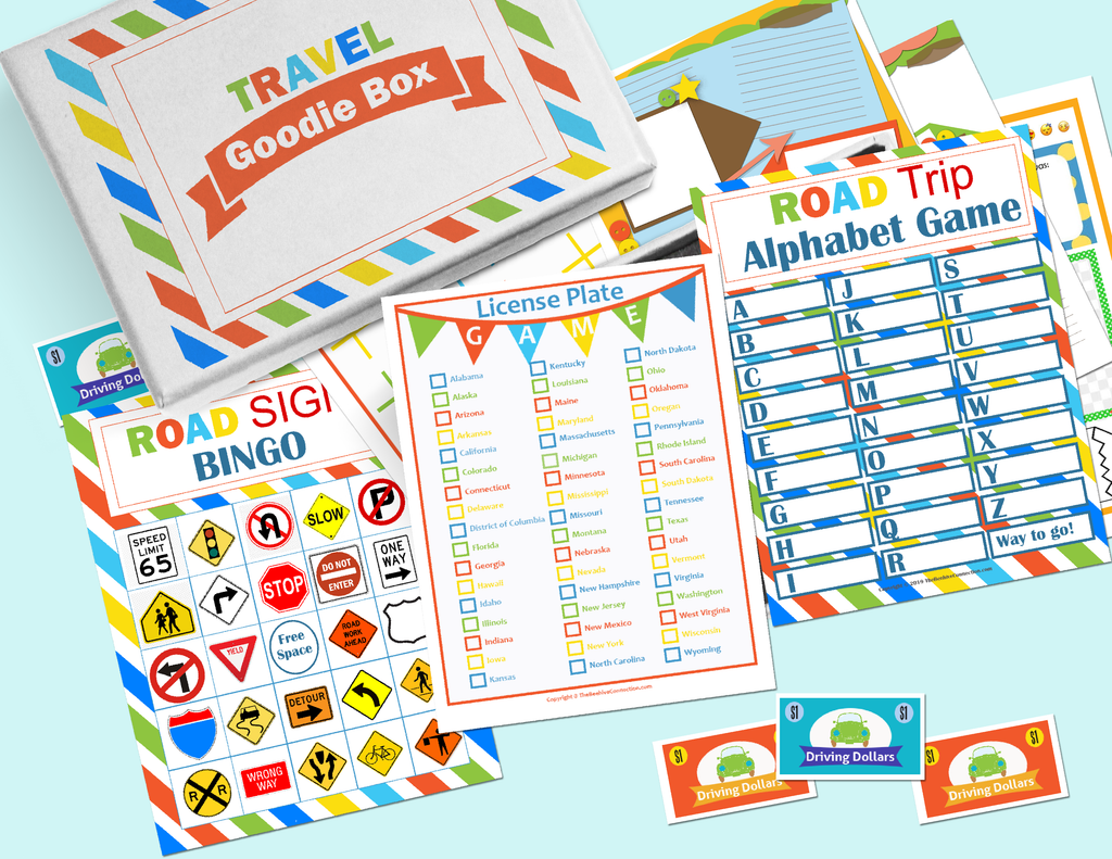 Travel Goodie Box Printables