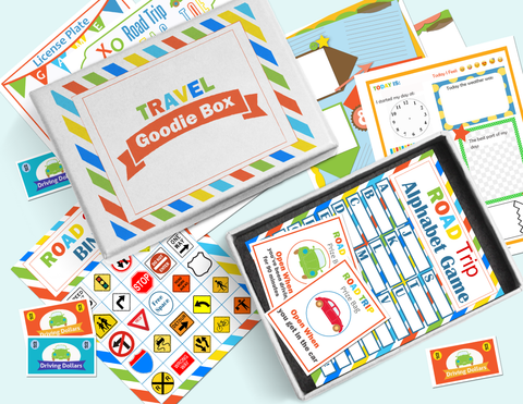 Image of Travel Goodie Box Printables