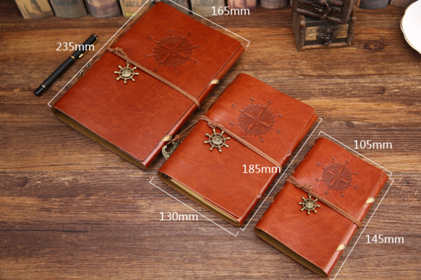Vintage Leather Travel Notebook