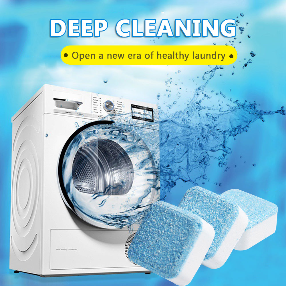 WashAway™ - Antibacterial Washing Machine Cleaner (4pcs)
