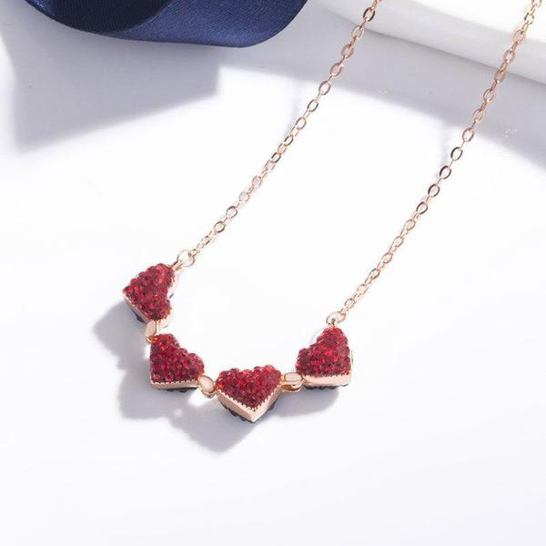 Limited Release: Lucky Clover | Folding Hearts Necklace