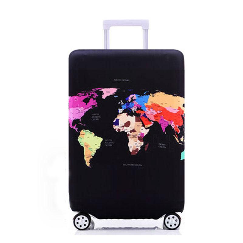 Decorative Protective Elastic Luggage Cover - Earthly Citizens