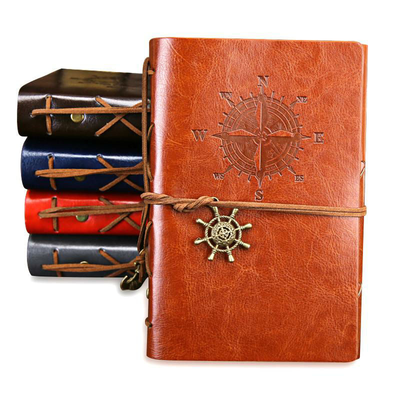 Vintage Leather Travel Notebook - Earthly Citizens