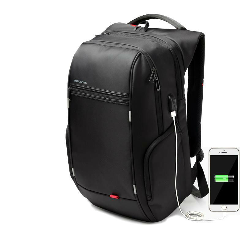 Waterproof Laptop Backpack With External USB Charger - Earthly Citizens