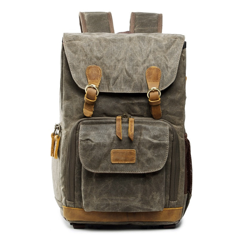 Deluxe Vintage Photographers Backpack - Earthly Citizens