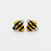 "Flash Sale: ""Bee Humble"" Gold & Silver Bumblebee Earrings"